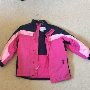 Columbia warm tectonite jacket